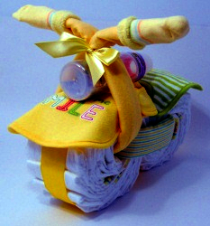cloth nappy  cake